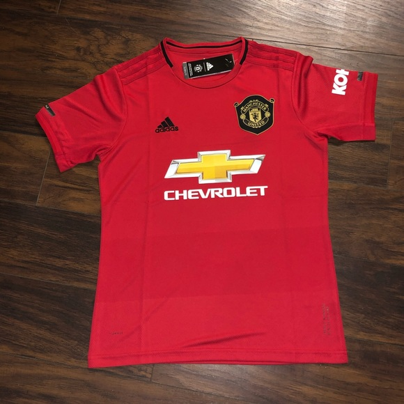 new product 0c0a9 588d8 Manchester United Home 19/20 Jersey NWT